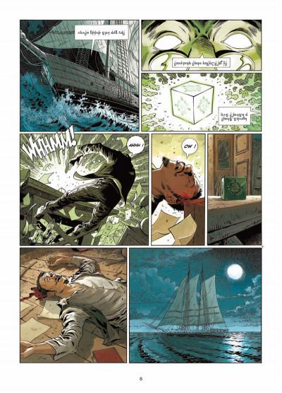 Page 4 Badlands Tome 1 - L'Enfant-hibou