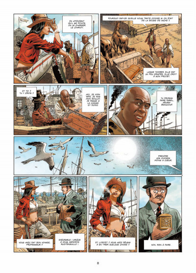 Page 6 Badlands Tome 1 - L'Enfant-hibou