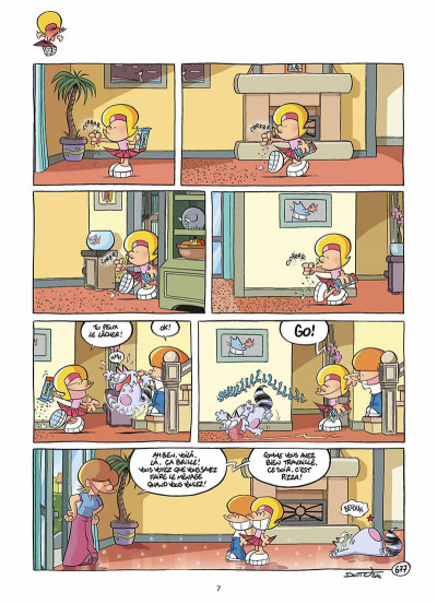 Page 8 Les P'tits Diables Tome 17 - Frère adoré chéri de mon cœur !