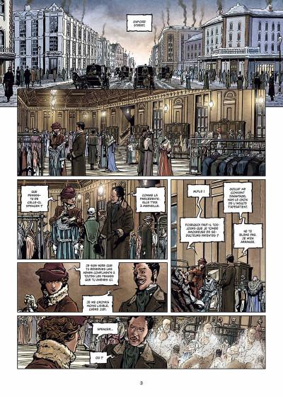 Page 4 Sherlock Holmes et les voyageurs du temps Tome 1 - La Trame