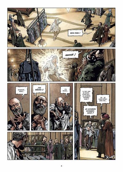 Page 5 Sherlock Holmes et les voyageurs du temps Tome 1 - La Trame