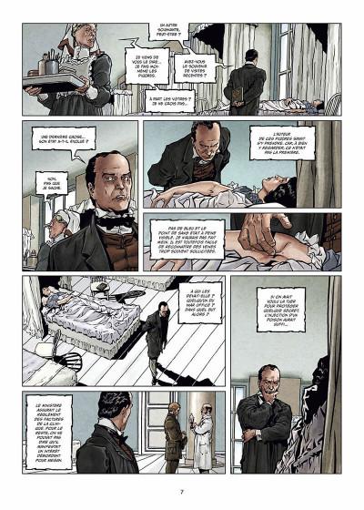 Page 8 Sherlock Holmes et les voyageurs du temps Tome 1 - La Trame