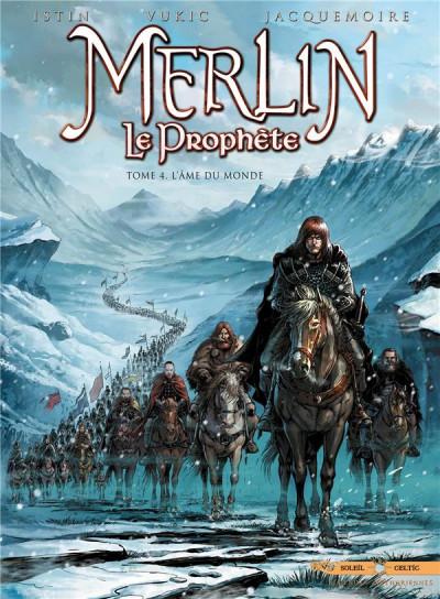 Couverture Merlin le prophète tome 4 - l'âme du monde