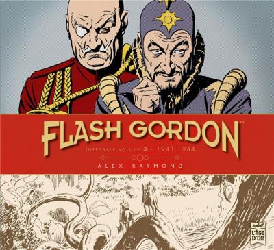 Couverture Flash Gordon tome 3 - Intégrale 1941-1944