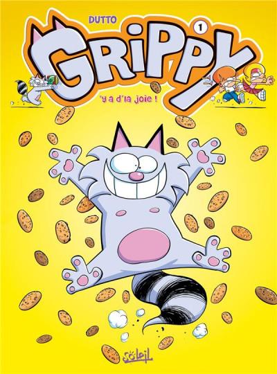 Couverture Grippy tome 1 - Y a d'la joie !