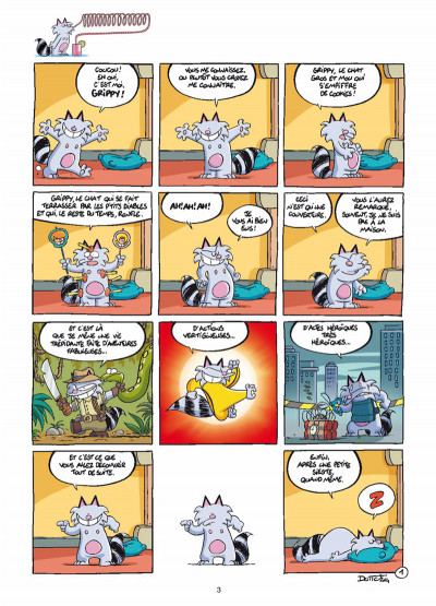Page 1 Grippy tome 1 - Y a d'la joie !