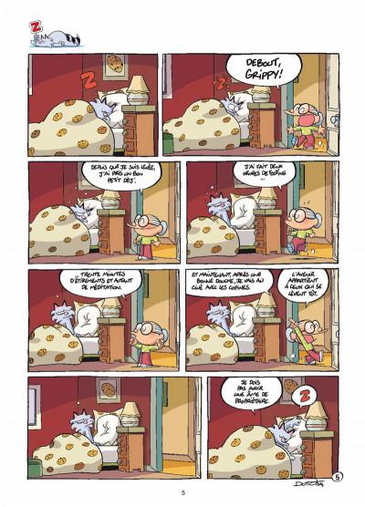 Page 3 Grippy tome 1 - Y a d'la joie !