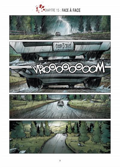 Page 1 Vigilantes tome 3 - Retour à Pitsgreen