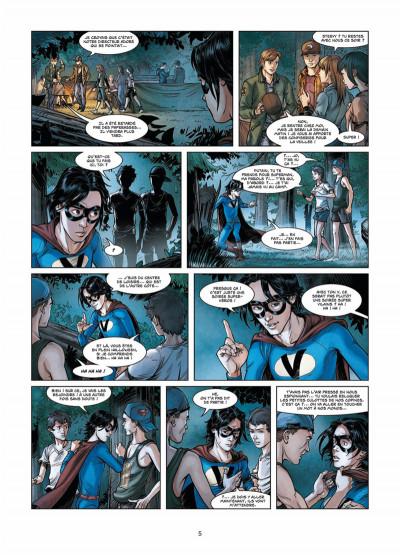 Page 3 Vigilantes tome 3 - Retour à Pitsgreen