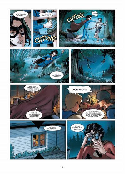 Page 4 Vigilantes tome 3 - Retour à Pitsgreen