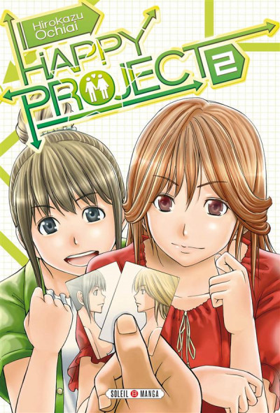 Couverture Happy Project tome 2