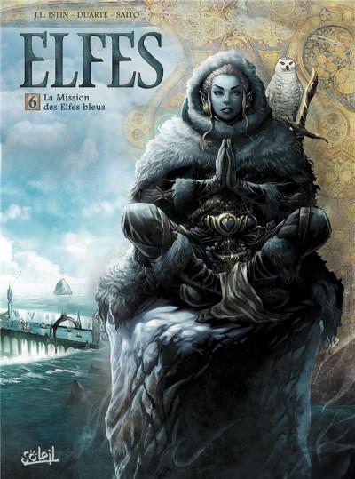 Couverture Elfes tome 6 - La Mission des Elfes bleus