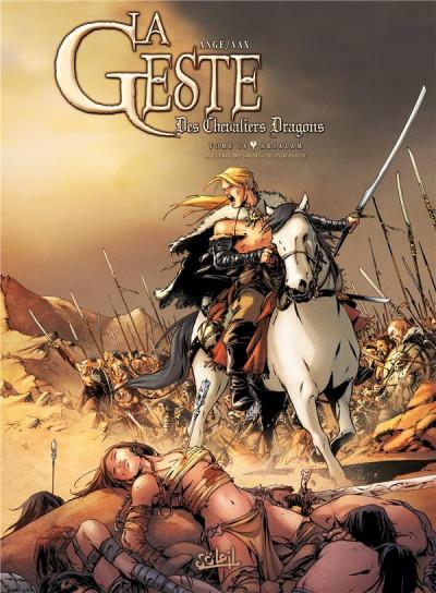 Couverture La Geste des Chevaliers dragons tome 18 - Arsalam - La Guerre des Sardes 2