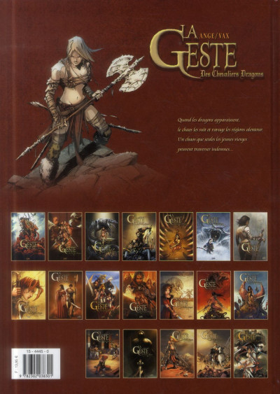 Dos La Geste des Chevaliers dragons tome 18 - Arsalam - La Guerre des Sardes 2