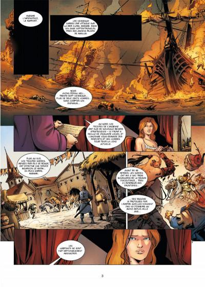 Page 1 La Geste des Chevaliers dragons tome 18 - Arsalam - La Guerre des Sardes 2