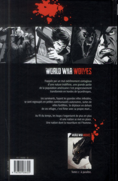 Dos World War Wolves tome 1