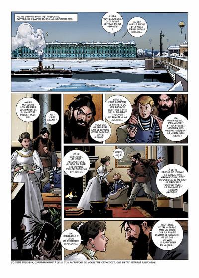 Page 4 Wunderwaffen présente Zeppelin's War tome 1