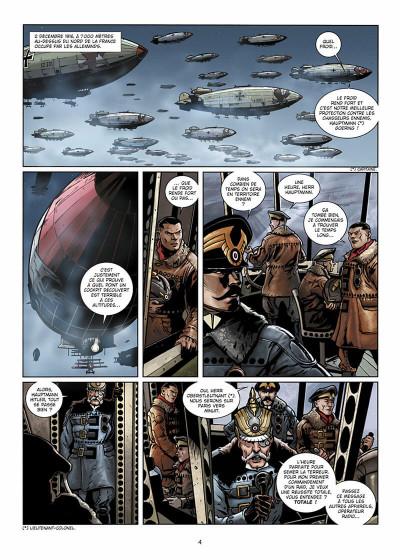 Page 5 Wunderwaffen présente Zeppelin's War tome 1