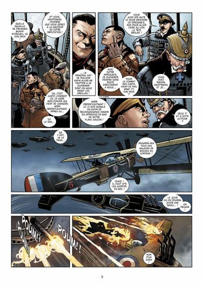 Page 6 Wunderwaffen présente Zeppelin's War tome 1