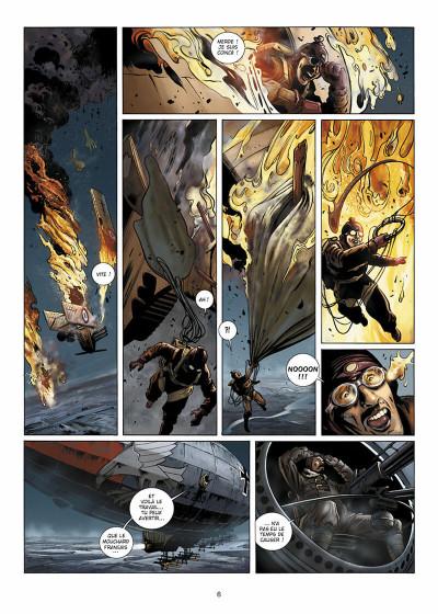 Page 7 Wunderwaffen présente Zeppelin's War tome 1
