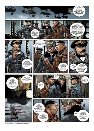 Page 8 Wunderwaffen présente Zeppelin's War tome 1
