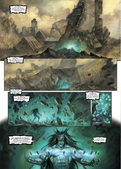 Page 3 Arawn tome 6 - La Terre brûlée