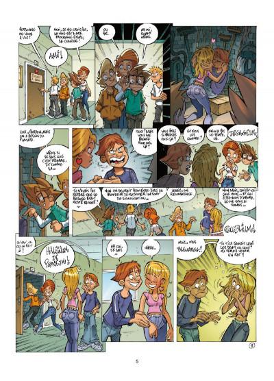 Page 3 Le collège invisible tome 12
