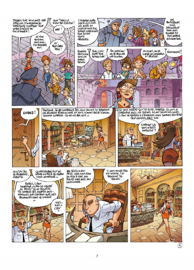 Page 5 Le collège invisible tome 12