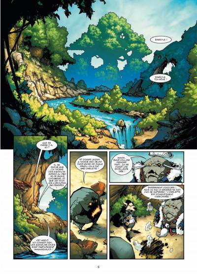Page 3 Elyne tome 3 - Ennemis intimes