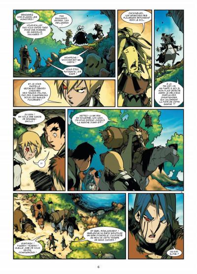 Page 4 Elyne tome 3 - Ennemis intimes