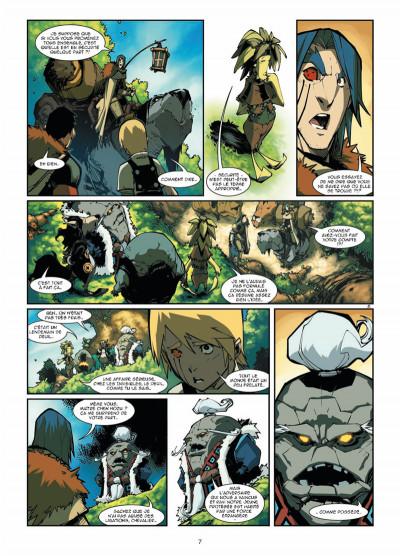 Page 5 Elyne tome 3 - Ennemis intimes