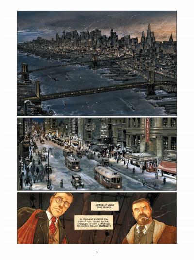 Page 1 Broadway - Une rue en Amérique tome 1