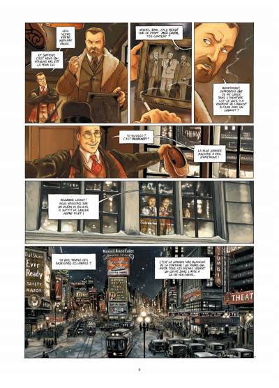 Page 4 Broadway - Une rue en Amérique tome 1