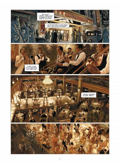 Page 5 Broadway - Une rue en Amérique tome 1