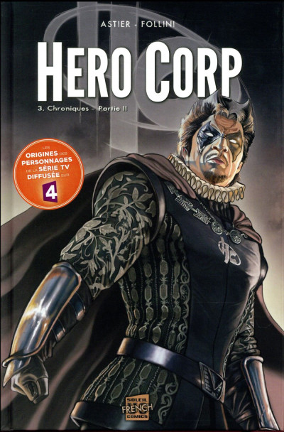 Couverture Hero corp tome 3