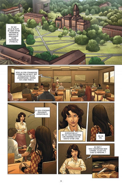 Page 1 Hero corp tome 3