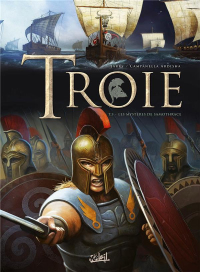 Couverture Troie tome 3 - Les Mystères de Samothrace