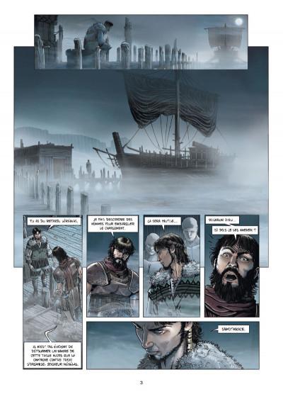 Page 1 Troie tome 3 - Les Mystères de Samothrace
