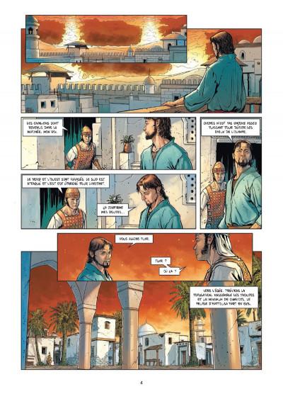 Page 2 Troie tome 3 - Les Mystères de Samothrace