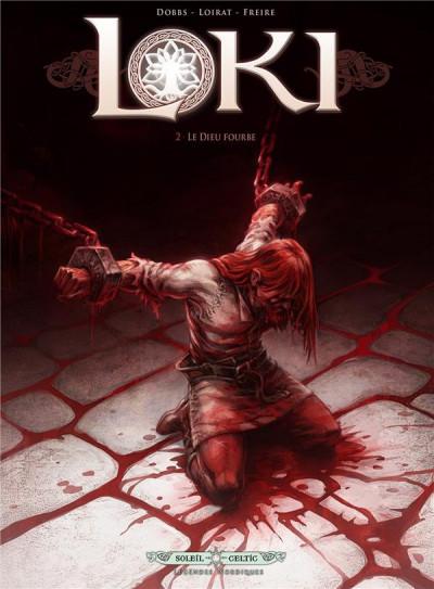 Couverture Loki tome 2 - le dieu fourbe