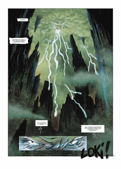 Page 4 Loki tome 2 - le dieu fourbe