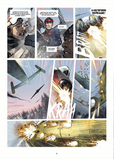 Page 2 Les Divisions de fer tome 1 - Commando rouge