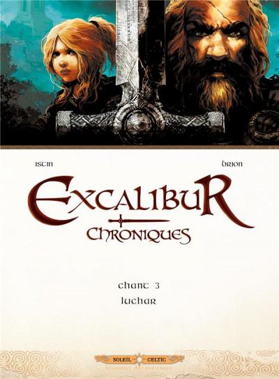 Couverture Excalibur Chroniques tome 3 - Luchar