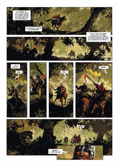 Page 2 Excalibur Chroniques tome 3 - Luchar