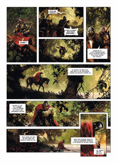 Page 3 Excalibur Chroniques tome 3 - Luchar