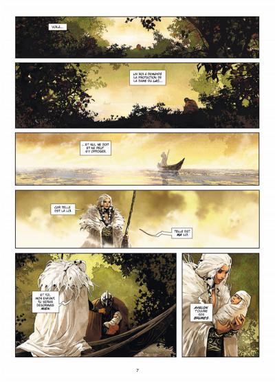 Page 5 Excalibur Chroniques tome 3 - Luchar