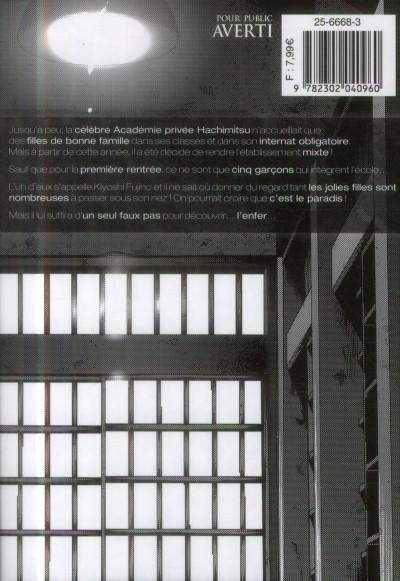 Dos Prison school tome 1