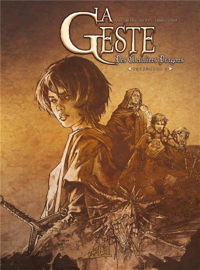 Couverture La Geste des Chevaliers dragons - Intégrale tome 9 à tome 12
