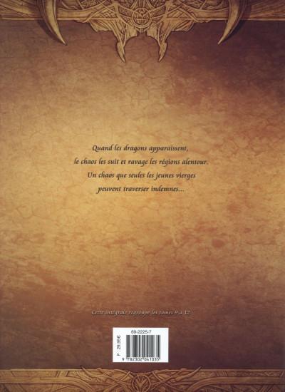 Dos La Geste des Chevaliers dragons - Intégrale tome 9 à tome 12