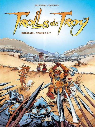 Couverture Trolls de Troy - Intégrale tome 5 à tome 7
